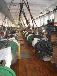 The Weave Room at the Boott Mill
