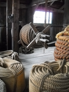 Rope Room, Mystic Seaport Connecticut